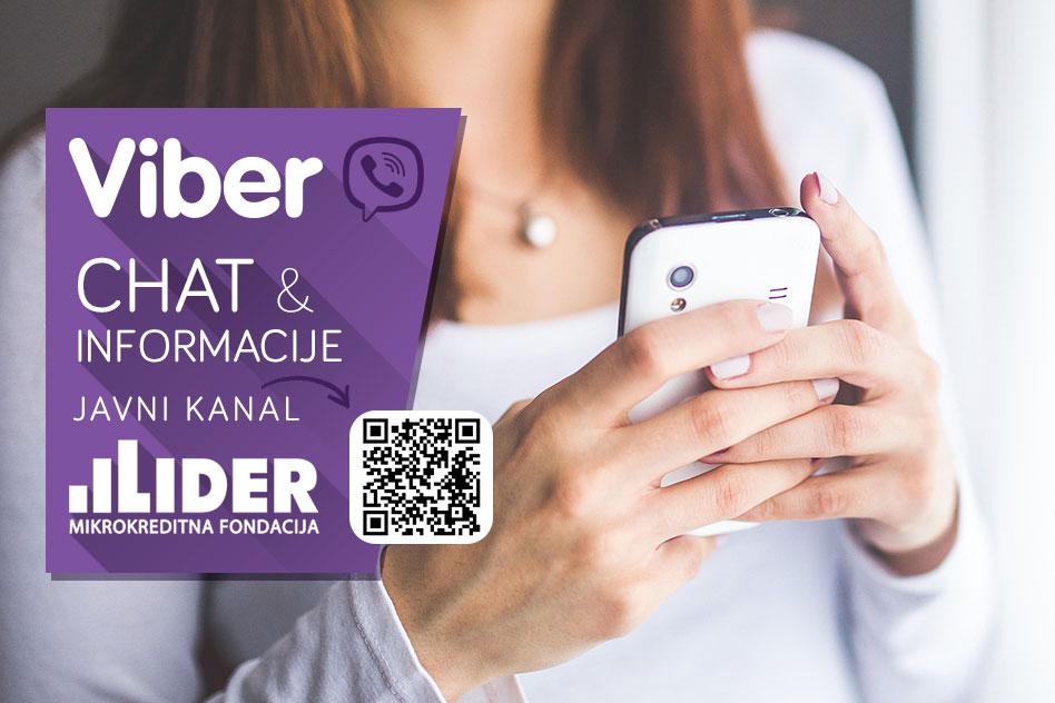 Lider - Viber chat - Javni kanal