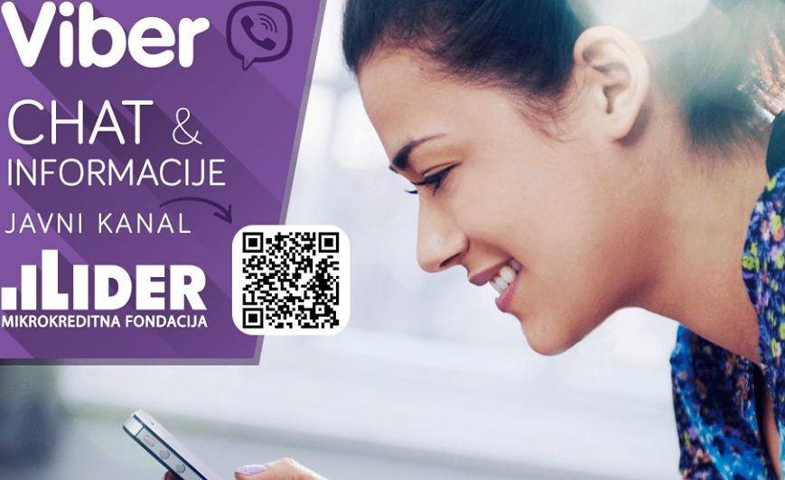NEW!! Lider Viber chat