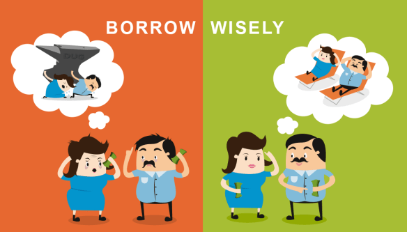 "On our youtube channel, there is short video about ""Borrow Wisely"""