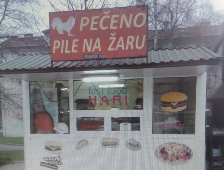 "Fast Food ""Hari"" from Zenica"