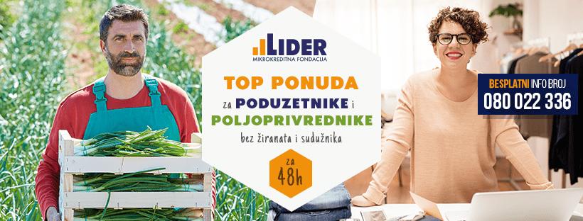 TOP ponuda za poduzetnike i poljoprivrednike!