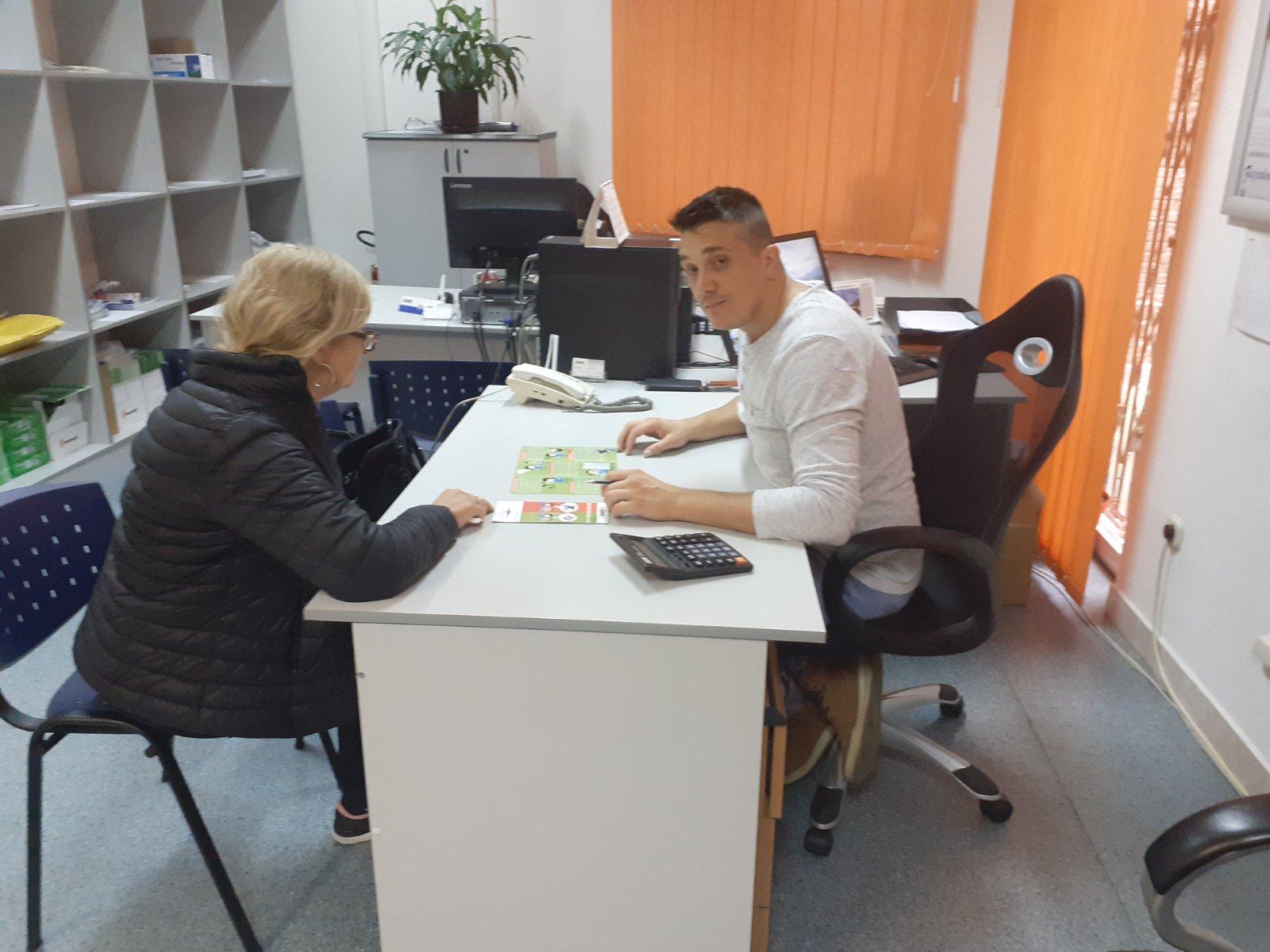 """Kampanja """"Mudro pozajmljujte"""" ured Turhanija, Sarajevo"""