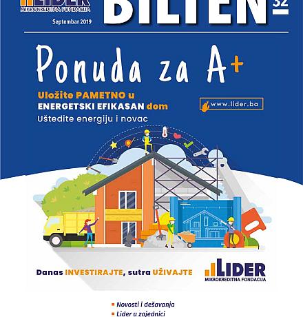 Novo izdanje Lider Biltena 32.
