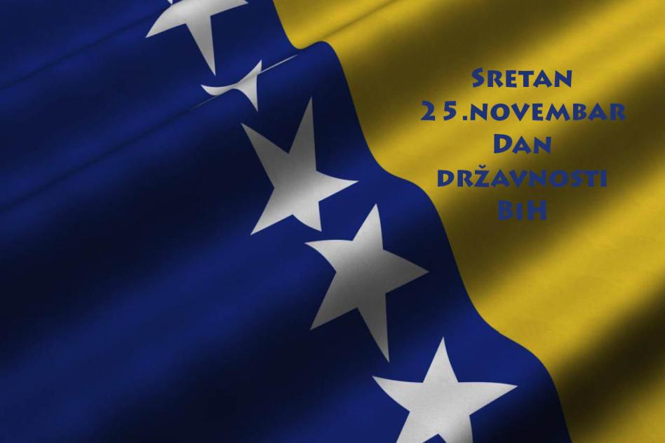 Sretan 25. novembar, Dan državnosti BiH » Lider - Mikrokreditna fondacija