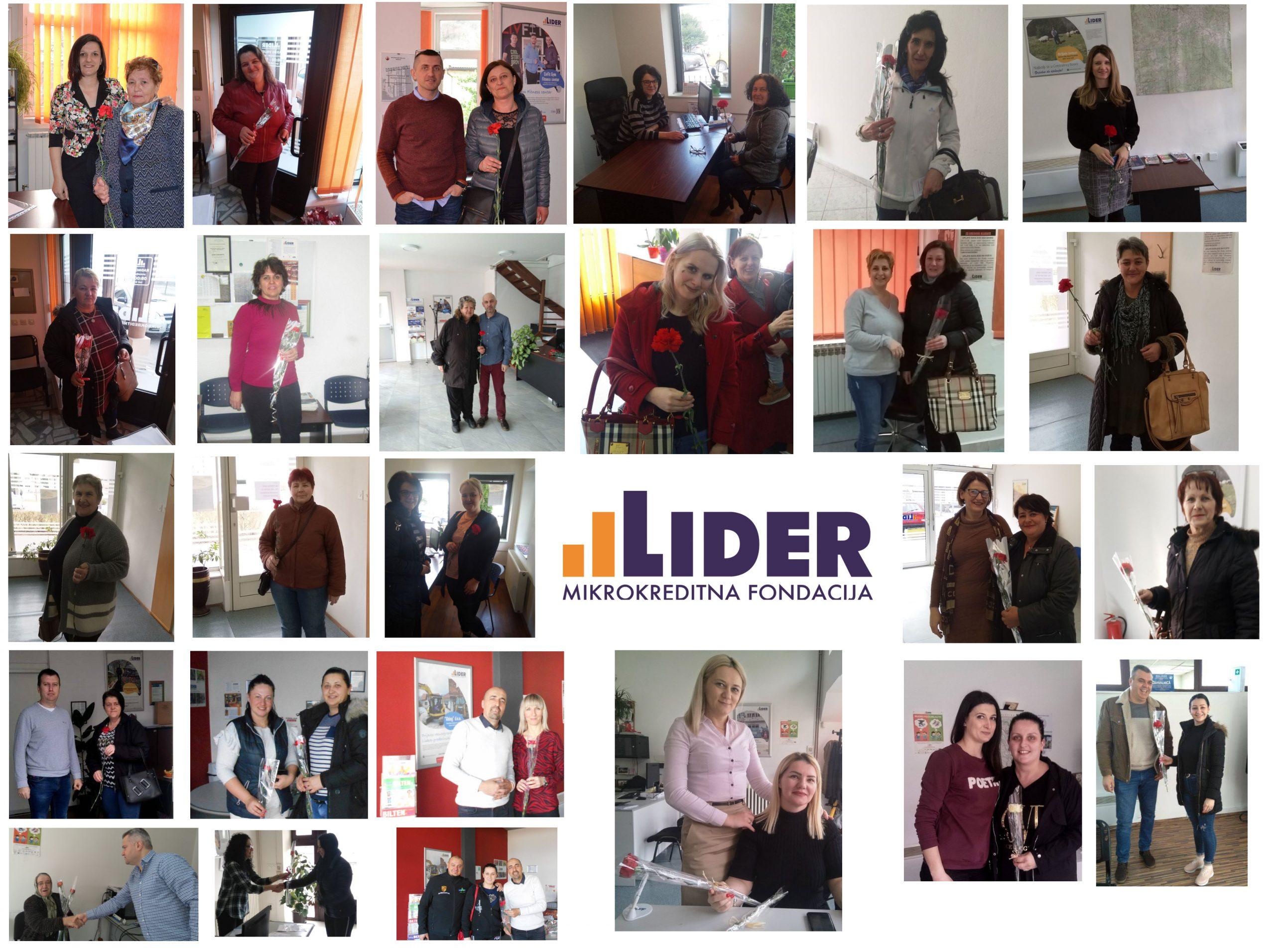 8.mart u uredima Mikrokreditne fondacije Lider
