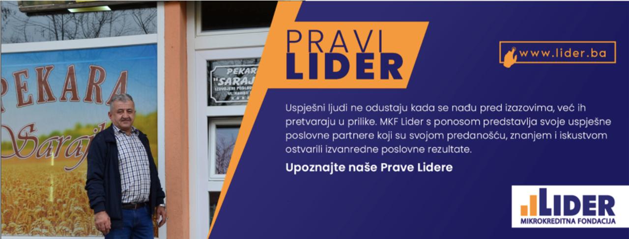 """Upoznajte Prave Lidere - Pekara """"Sarajka"""" - Agron Hameli, Alije Izetbegovića 217, Kakanj"""