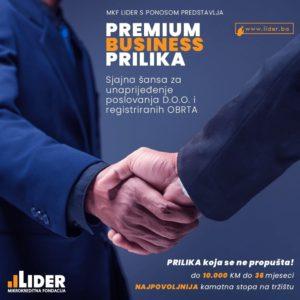 MKF Lider u saradnji sa Razvojnom bankom FBiH – Pokrenut projekat povoljnih finansiranja za male privrednike