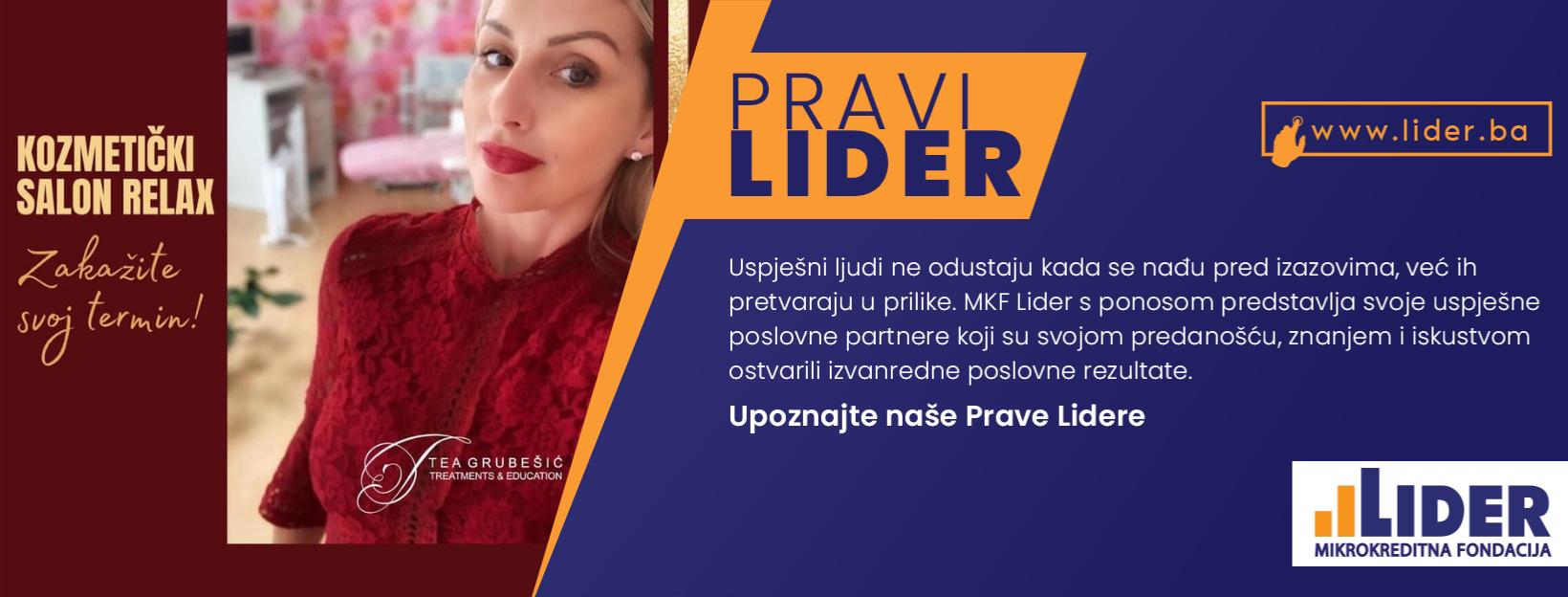 """Upoznajte Prave Lidere – O.R. Kozmetički Salon """"Relax"""" – Grubešić Tea, Kolodvorska 11 A, Sarajevo"""