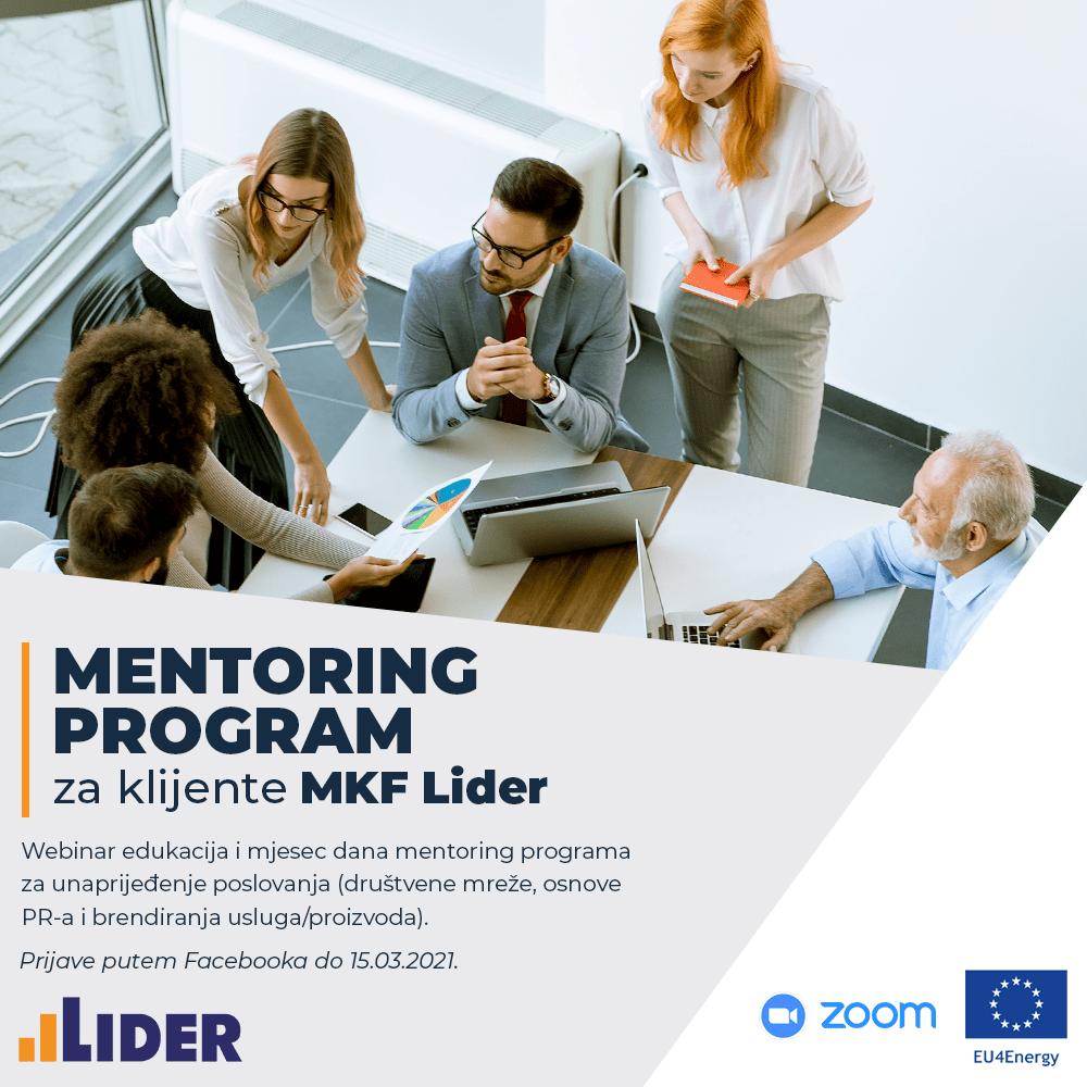 Prijavite se za besplatan online mentoring program