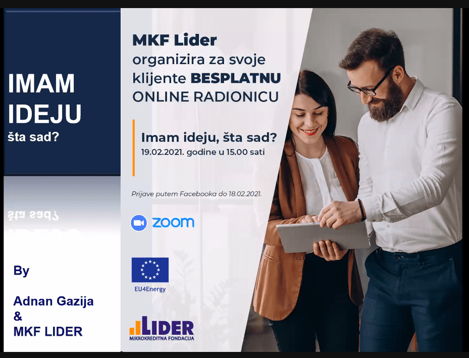 MKF Lider se istakao projektima pomoći za male privrednike