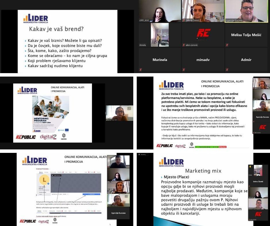 Mentoring program za LIDER klijente